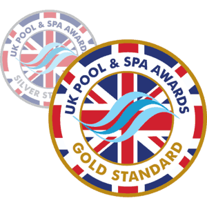 UK Pool and Spa Awards logos